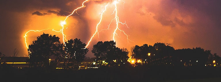 Homeowners insurance coverage and lightning damage explained