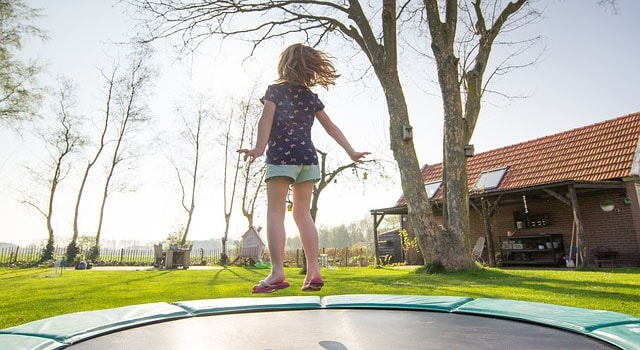 Image result for How a Trampoline Affects Your Home Insurance Policy""