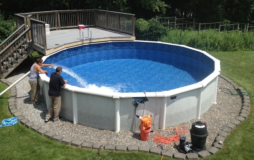 Homeowners insurance above ground pool