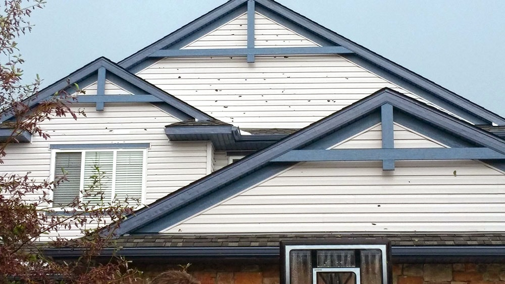 Homeowners insurance coverage and hail storm damage