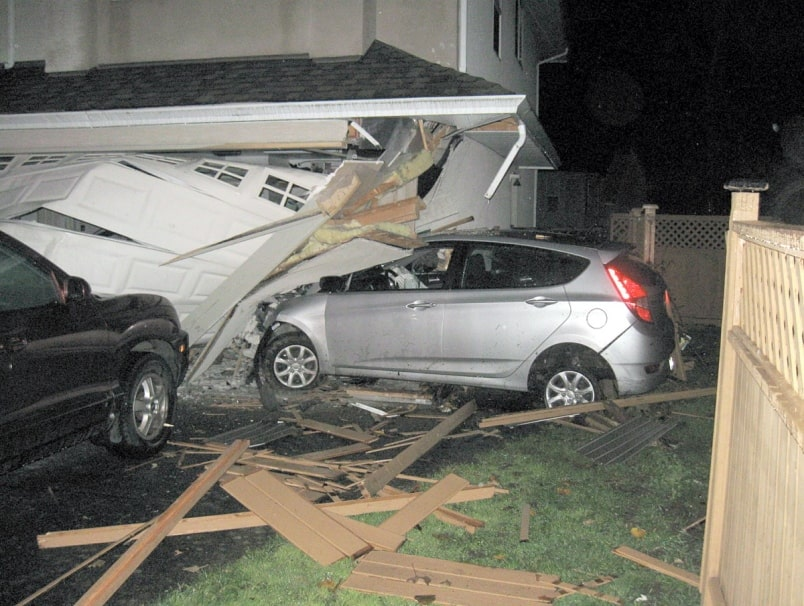 Does Homeowners Insurance Cover A Car Crashing Into The House?